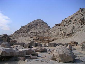 Pyramid of Neferirkare - Image: Abousir Neferirkare 01
