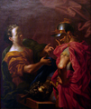 Abraham Godijn - Jael and Barak over the body of Sisera.PNG