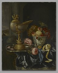 Banquet Still Life with Nautilus Cup