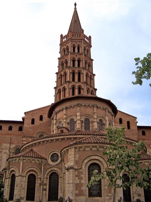 Abside et clocher de St Sernin