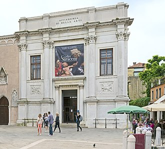 Gallerie dell'Accademia - Façade of the gallery