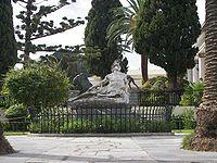 Ο Αχιλλέας θνήσκων στον κήπο του Αχιλλείου