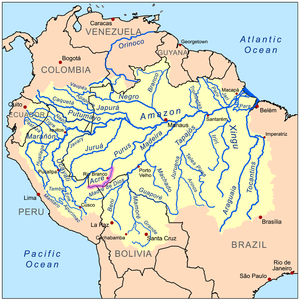 Acre River - Image: Acrerivermap