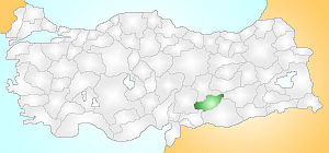 Adıyaman Turkey Provinces locator.jpg
