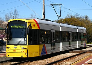 Flexity Classic - Flexity tram in Adelaide