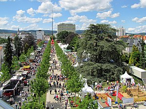 Hassium - Hessentag festival in 2011, celebrating the culture of the German state of Hesse, namesake of hassium