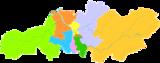 长沙市行政区划图