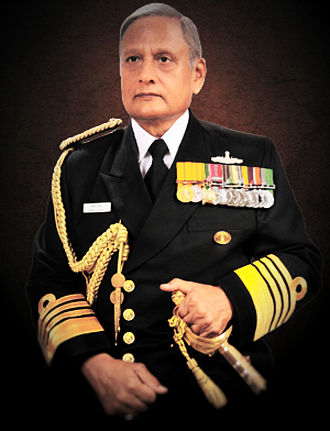 Chairman of the Chiefs of Staff Committee - Image: Admiral Verma