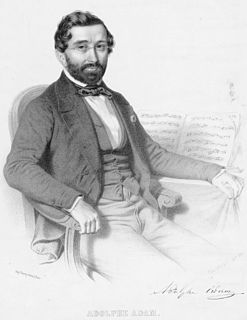 Adolphe Adam French composer and music critic