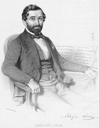 Adolphe Adam - Adolphe Adam, Lithograph, 1850