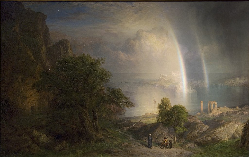 """The Aegean Sea"" by Frederic Edwin Church"