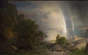 The Aegean Sea - Image: Aegean Sea Frederic Edwin Church