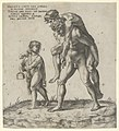 Aeneas rescuing Anchises, a young boy carrying a lantern at left MET DP844312.jpg