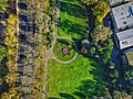 Aerial perspective of the Star-shaped garden bed in Alexandra Gardens.jpg