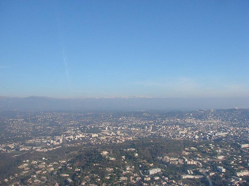 Aerial tour of the Cote d'Azur