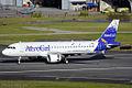 AeroGal Airbus A320 HC-CJM (6155954093).jpg