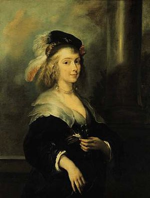 Rubenshuis - Portrait of a Woman (Helena Fourment).