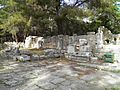 Agora of Hadrian which opens up into the city square in the centre of the city, Phaselis, Lycia, Turkey (9696143320).jpg