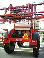 Agrifac Condor self-propelled sprayer at IndAgra Farm Romexpo 2010 (back view).JPG