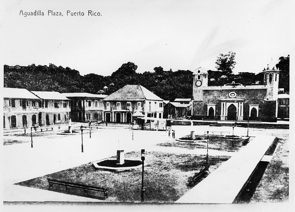 Aguadilla Plaza, Puerto Rico, 1910