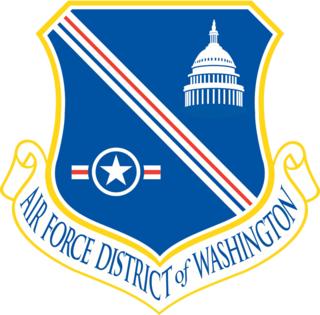 Air Force District of Washington Direct reporting unit of the United States Air Force responsible for the defense of the National Capital Region
