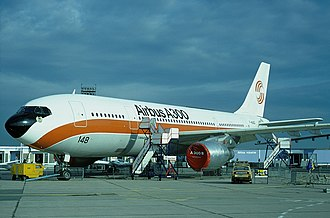 Airbus A300 - An A300 in vintage Airbus livery at Le Bourget in 1977