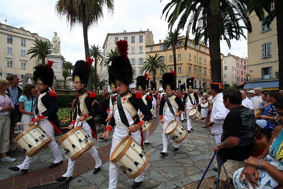 Ajaccio, Corsica, France - Napoleon's Birthday Celebration 2006 - panoramio