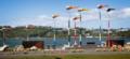 Akau Tangi a sculpture by Phil Dadson Cobham Drive, Miramar, Wellington, New Zealand 07.png