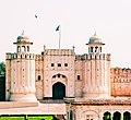 Alamgiri Gate just above Hazuri Bagh Baradari.jpg