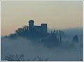 Alba sulla Torre del Castellano - Reggello - Firenze - Toscana.jpg