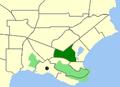 Albany-Mira Mar map.png