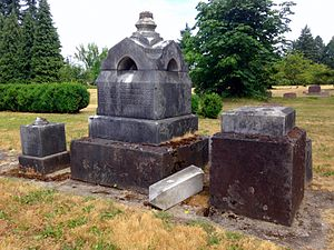 National Register of Historic Places listings in Linn County, Oregon - Image: Albany Hebrew Cemetery 1 Albany Oregon
