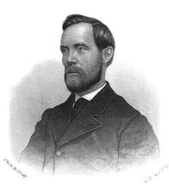 Albert D. Richardson - Portrait from The Secret Service (1865).