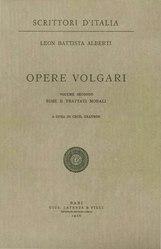 Leone Battista Alberti: Opere volgari