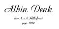 Albin Denk logo.png