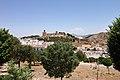 Alcazaba de Antequera, vista desde el sur de la ciudad.jpg