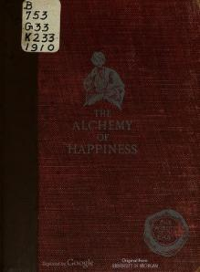 Alchemy of Happiness - Field.djvu