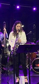 Alexa Tarantino American jazz Musician