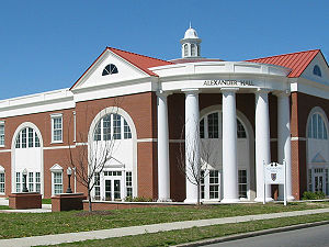 Murray State University - Alexander Hall, named for former Murray State president Kern Alexander