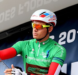 Alexander Kristoff - Kristoff at the Tour des Fjords in 2014