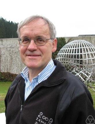 Alexander Schrijver - Lex Schrijver at Oberwolfach in 2010