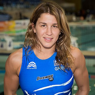 Olympiacos Women's Water Polo Team - Alexandra Asimaki, 2011 FINA World Player of the Year