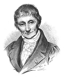 alt=A realistic black-and-white portrait of Brongniart, who is clean shaven with a full head of hair. He is dressed in a formal jacket
