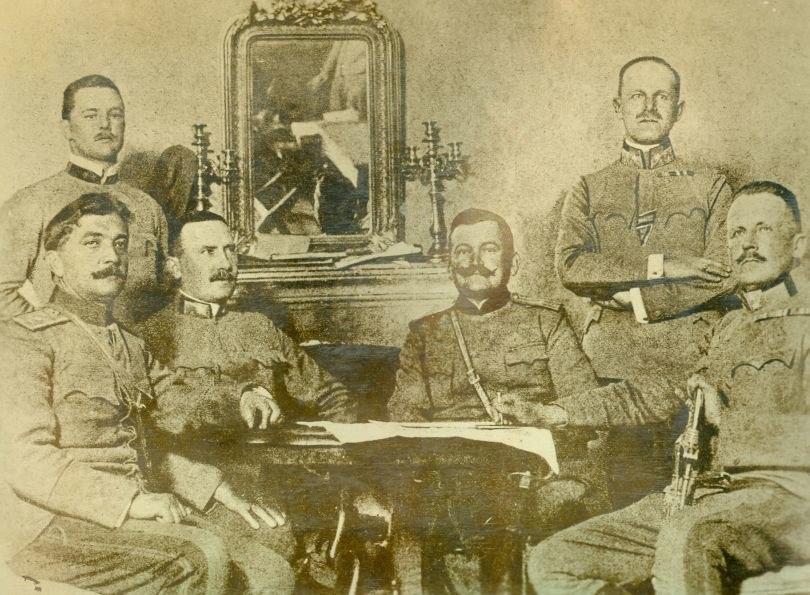 Alexius WW1 Kapitulation Montenegros