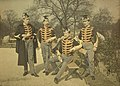 Alfonse Van Besten, Lanciers Armée Belge 1911, autochrome 9 x 12.jpg