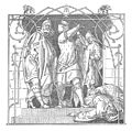 Alfred Rethel - Die Nibelungen 05 Wie sie die Toten hinauswarfen.jpg
