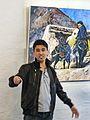 Ali Hosseini Hazara åpner maleriutstilling (7181919758).jpg