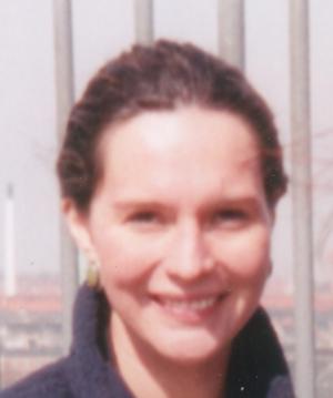 Alicia M. Soderberg - A. M. Soderberg on top of Rundetårn in 2001.