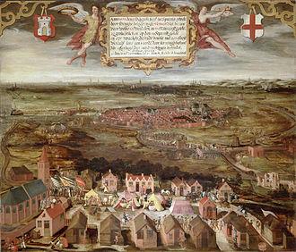 Eighty Years' War (1566–1609) - The siege of Alkmaar in 1573