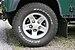 All-terrain tyre on Land Rover wheel, Oban, July 2020.jpg